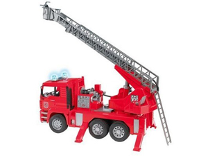 Bruder MAN Fire Engine with water pump, light and sound module