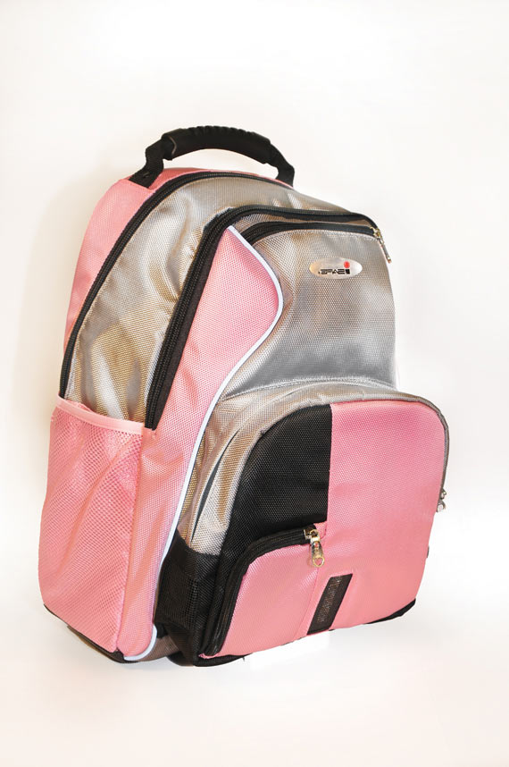 ISAFE SCHOOL BACKPACK FEATURES 840 RIPSTOP (PInk)