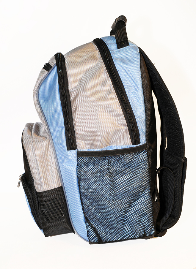 ISAFE SCHOOL BACKPACK FEATURES 840 RIPSTOP (Blue)