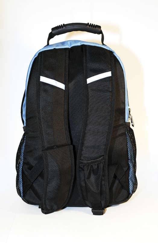 ISAFE SCHOOL BACKPACK FEATURES 840 RIPSTOP (Blue) - Click Image to Close