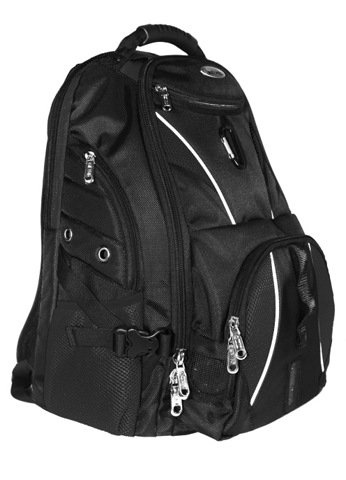 ISAFE ULTIMATE LAPTOP BACKPACK FEATURES 840 RIPSTOP (Black) [IC ...